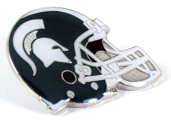 Michigan State Helmet Pin