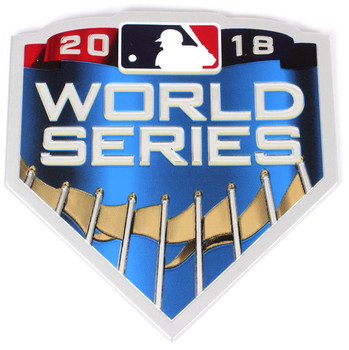 2018 World Series Embossed Patch