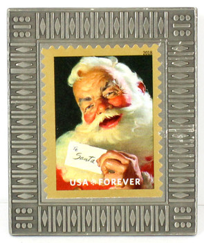 Santa Claus Christmas Forever Stamp Pin #1