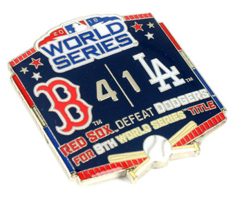 2018 World Series Commemorative Pin - Red Sox vs. Dodgers