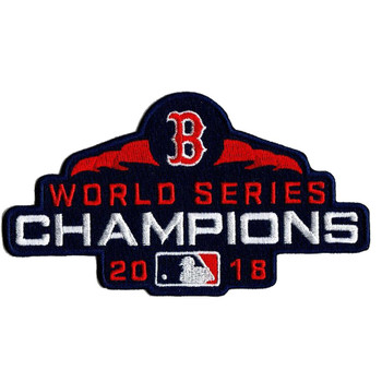 Boston Red Sox 2018 World Series Champions Patch
