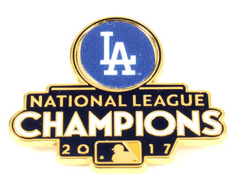 Los Angeles Dodgers 2017 National League Champs Pin