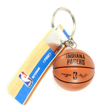 Indians Pacers Basketball Key Chain