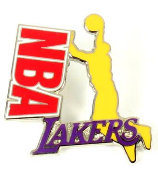 Los Angeles Lakers Dunk Pin