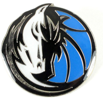 Dallas Mavericks Round Logo Pin