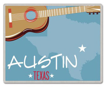 Austin Texas Lapel Pin