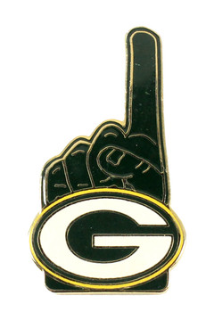 Green Bay Packers #1 Fan Pin