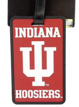 Indiana Hoosiers Luggage Tag