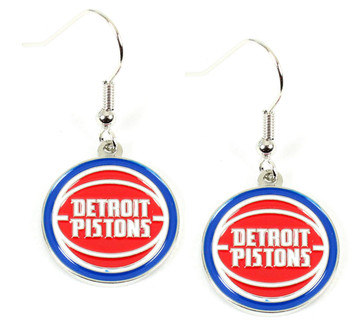 Detroit Pistons Earrings