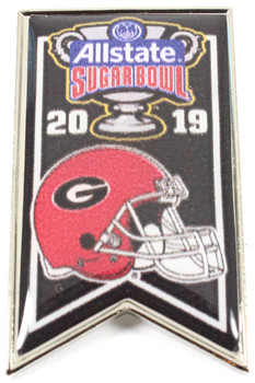 Georgia Bulldogs 2019 All-State Sugar Bowl Pin