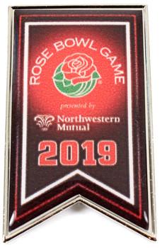 2019 Rose Bowl Event Logo Pin