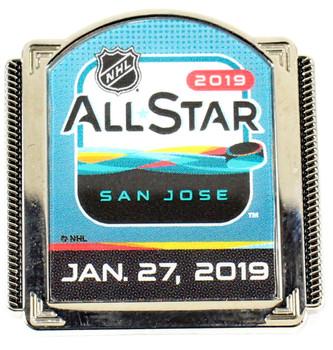 2019 NHL All-Star Game Logo Pin