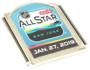 2019 NHL All-Star Game Logo Pin