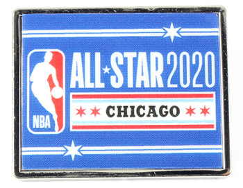 2020 NBA All-Star Game Logo Pin