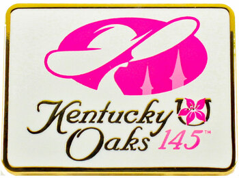 2019 Kentucky Oaks 145 Logo Pin