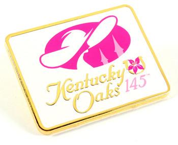 2019 Kentucky Oaks 145 Logo Pin