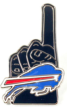 Buffalo Bills #1 Fan Pin