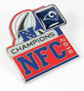 Los Angeles Rams 2018 NFC Champions Pin
