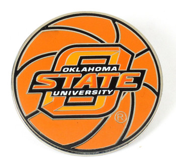 Oklahoma State Basketball Pin.