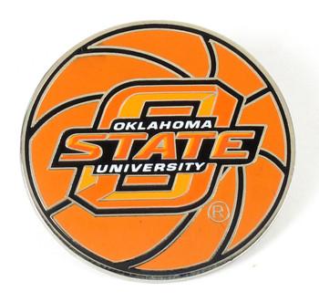 Oklahoma State Basketball Pin.