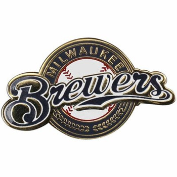 Milwaukee Brewers Logo Pin