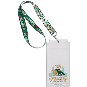 2019 Kentucky Derby 145th Lanyard w/ Ticket Holder