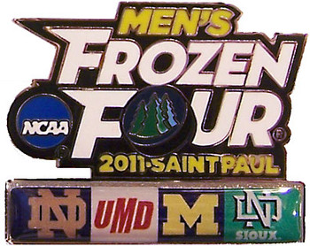 2011 Men's Frozen Four Dueling Team Pins
