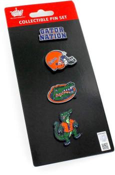 Florida Gators Four Pin Collector Set