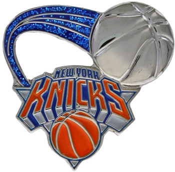 New York Knicks Glitter Trail Pin
