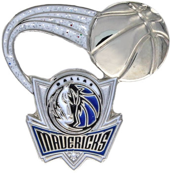 Dallas Mavericks Glitter Trail Pin
