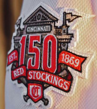 Cincinnati Reds 150th Anniversary Embroidered Emblem Patch