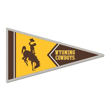 Wyoming Cowboys Pennant Pin