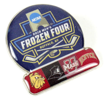 2019 Men's Frozen Four Dueling Pin