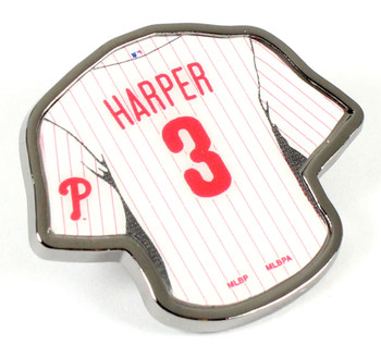 Bryce Harper Philadelphia Phillies #3Jersey Pin