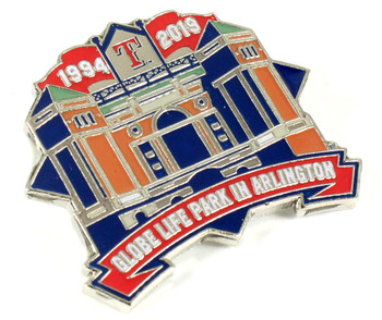 Globe Life Park In Arlington Final Season Pin - Limited 500