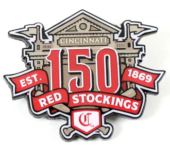 Cincinnati Reds 150th Anniversary Pin - Limited 500