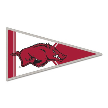 Arkansas Razorbacks Pennant Pin