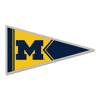 Michigan Wolverines Pennant Pin
