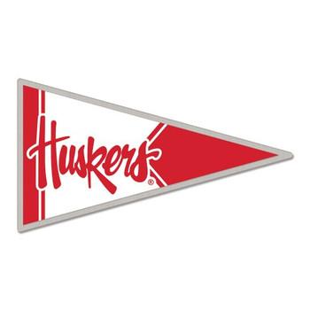Nebraska Cornhuskers Pennant Pin