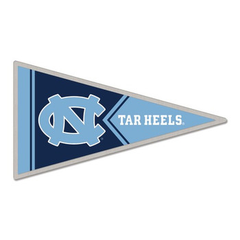 North Carolina Tarheels Pennant Pin