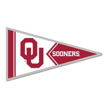 Oklahoma Sooners Pennant Pin