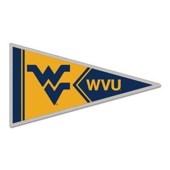 West Virginia Mountaineers Pennant Pin