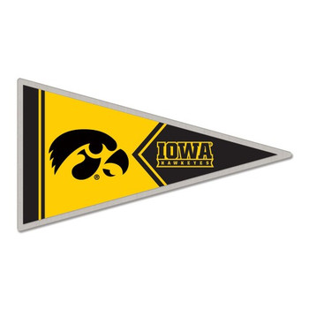 Iowa Hawkeyes Pennant Pin