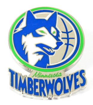 Minnesota Timberwolves Vintage Logo Pin - 1989