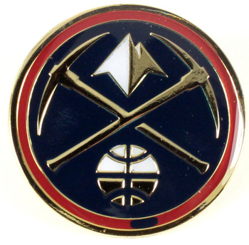 Denver Nuggets Logo Pin.