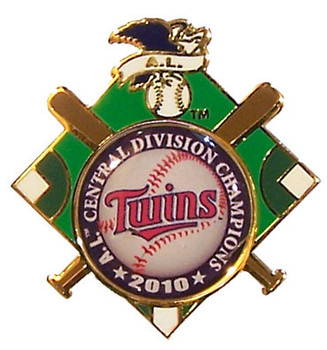 Minnesota Twins 2010 AL Central Champs Pin