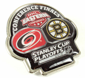 2019 NHL Eastern Conference Finals Hurricanes vs. Bruins Pin