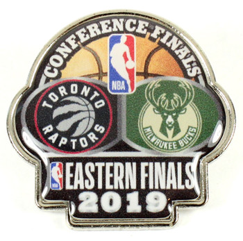 2019 NBA Eastern Conference Dueling Pin - Raptors vs. Bucks