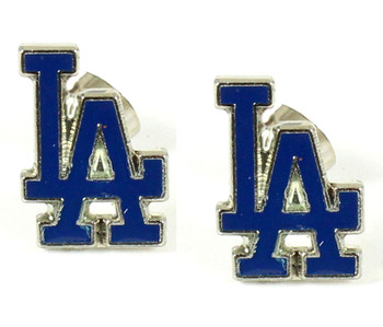Los Angeles Dodgers Post Earrings