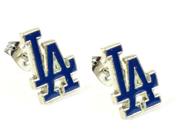Los Angeles Dodgers Post Earrings